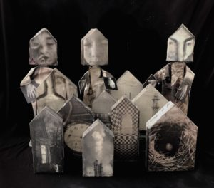 puppets and houses