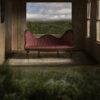 sofa by window