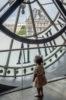 girl in clock tower